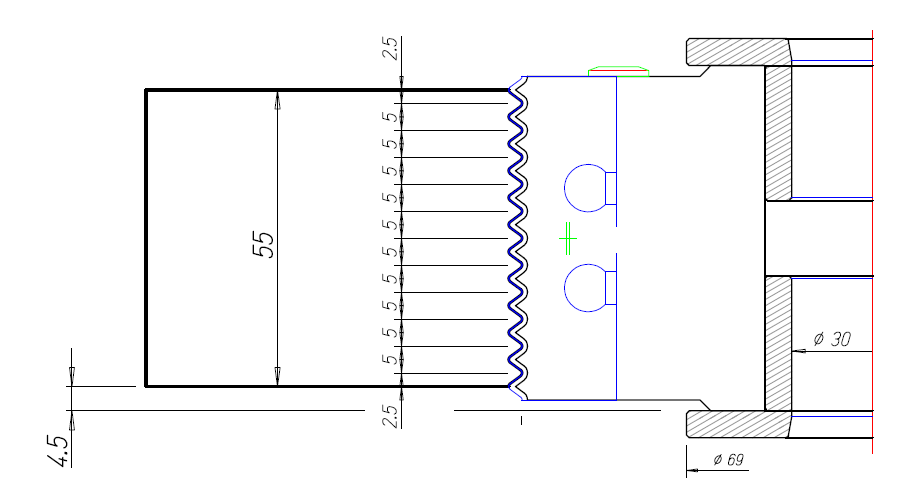 CutterShare Full Reference Glue Joint Cutter Tool Drawing Thumbnail