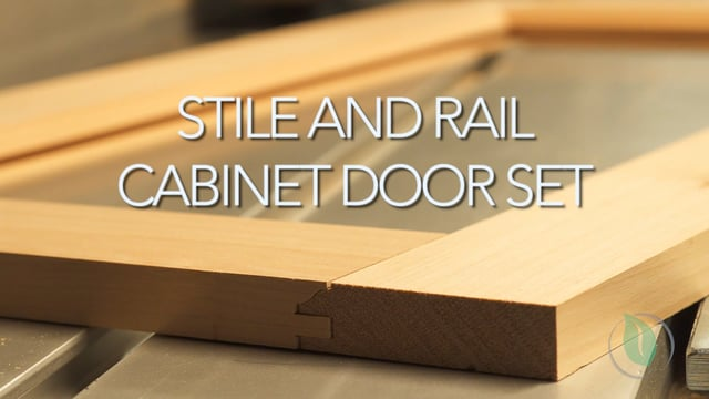 Cabinet Door Set - Setup & Demonstration